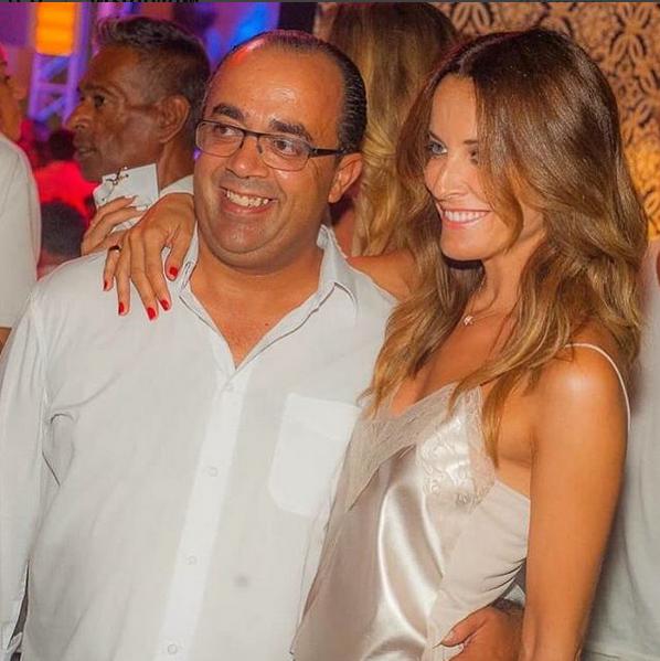 Com o empresário e amigo Luís Evaristo