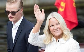 Norwegian Royal Silver Jubilee Tour - Visit to Trondheim