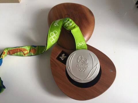 Medalha de  prata de Piotr Malachowski