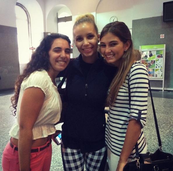 Com a Luciana Abreu
