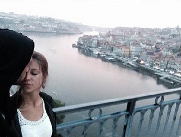 A primeira foto que a atriz colocou no Instagram com Pedro Barroso