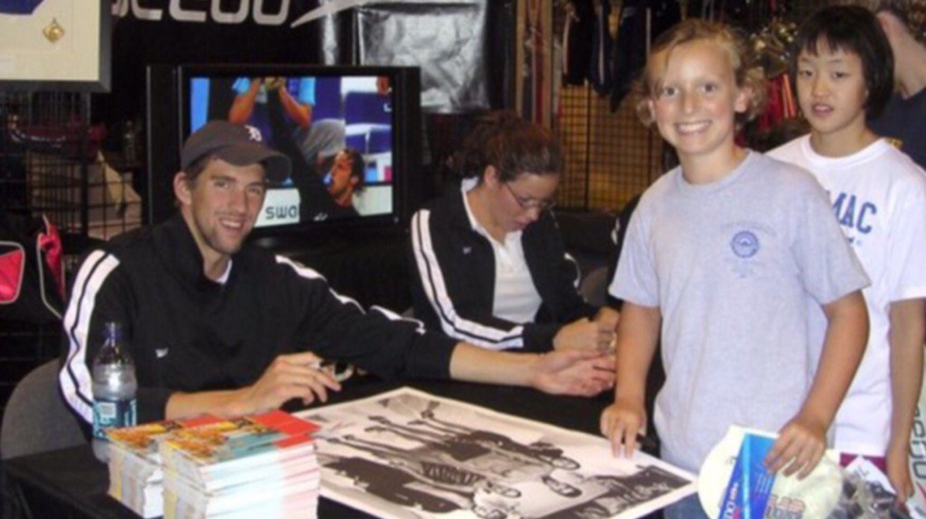 Phelps e Ledecky 2006