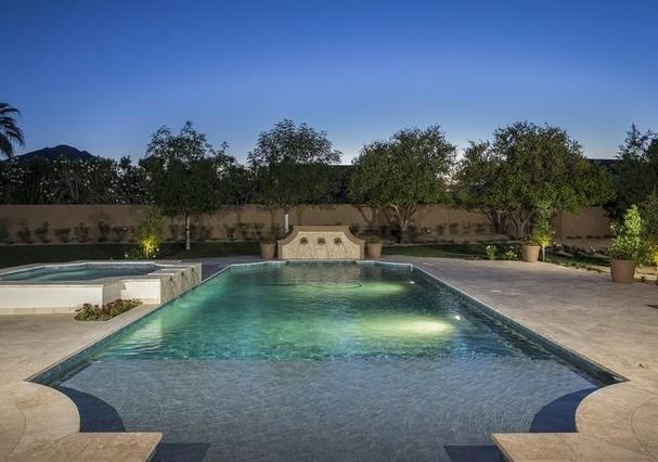 piscina mansão Michael Phelps