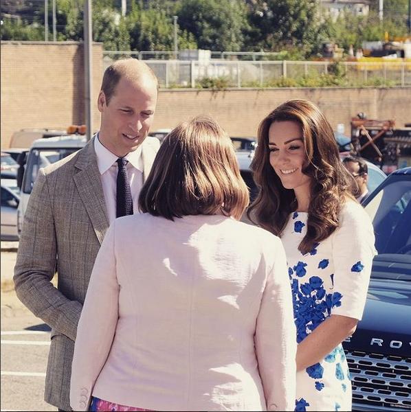 Príncipe William e Kate Middleton Visita