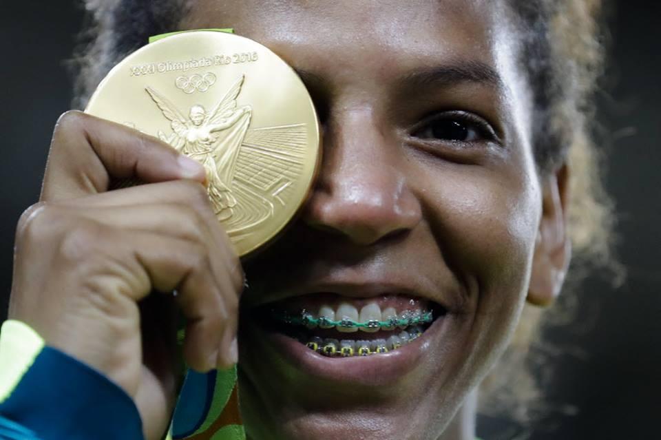 Rafaela Silva medalha 2