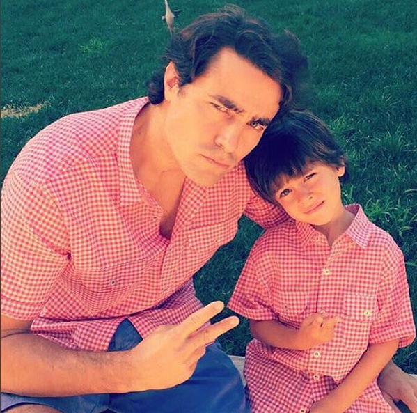 Ricardo Pereira e filho