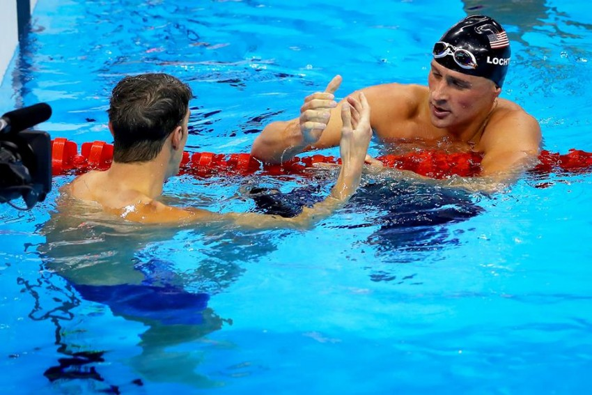 Ryan Lochte e Michael Phelps