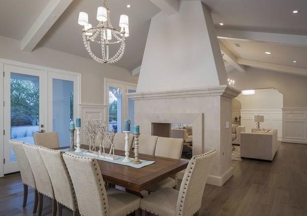 sala jantar mansão Michael Phelps