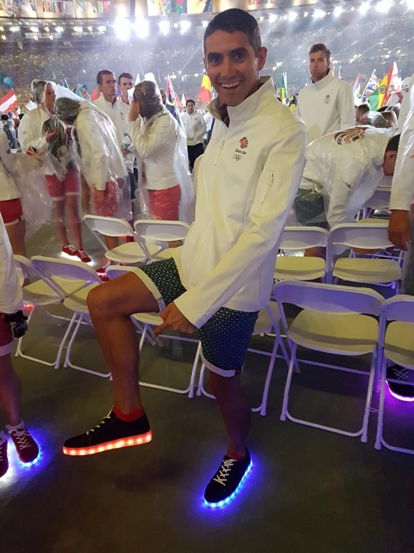 Sapatilhas com luz Seleção britânica Jogos Rio 12