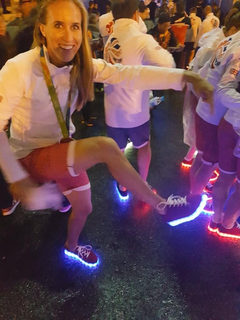 Sapatilhas com luz Seleção britânica Jogos Rio 14