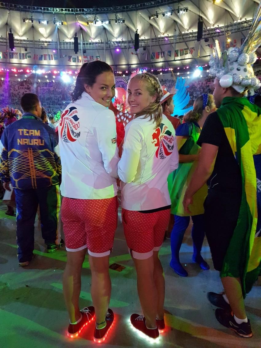 Sapatilhas com luz Seleção britânica Jogos Rio 2