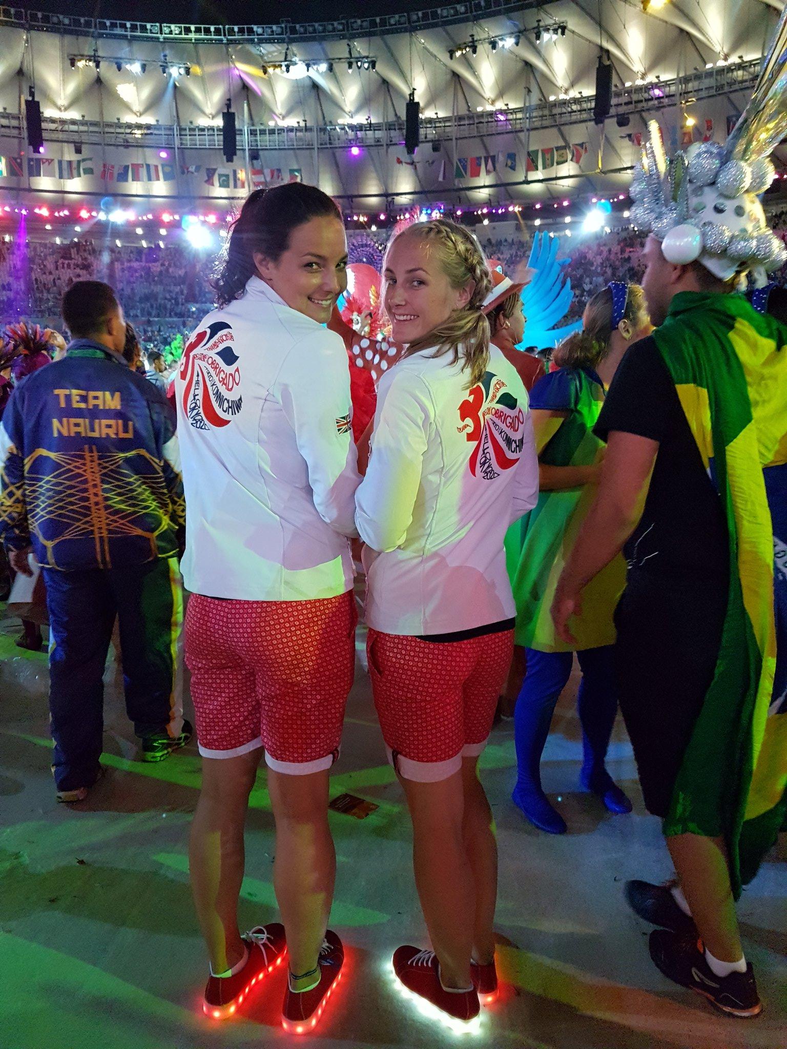 Sapatilhas luminosas de equipa olímpica britânica estão à