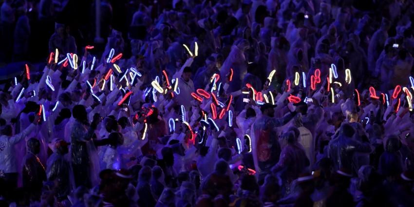 Sapatilhas com luz Seleção britânica Jogos Rio 6