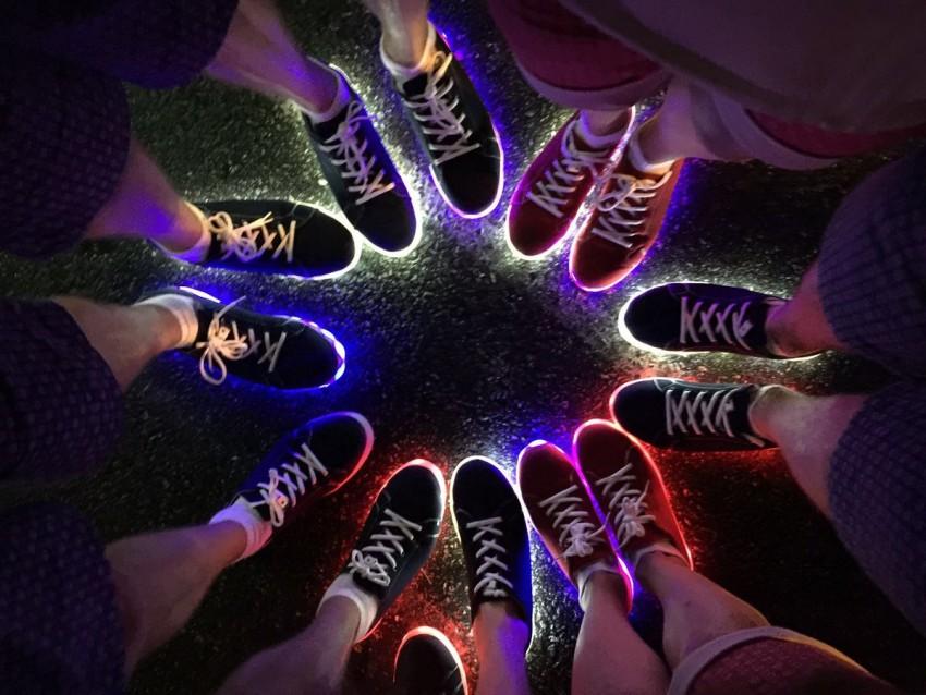 Sapatilhas com luz Seleção britânica Jogos Rio 7