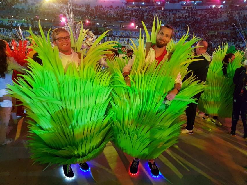 Sapatilhas com luz Seleção britânica Jogos Rio 8