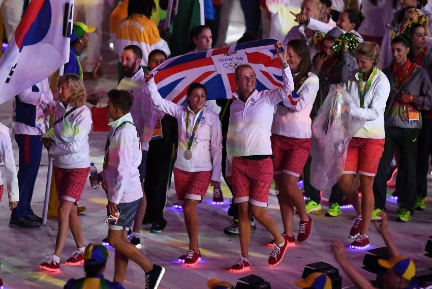 Sapatilhas com luz Seleção britânica Jogos Rio 9