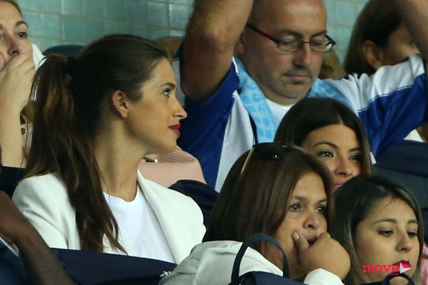 Sara Carbonero attends the game of UEFA Champions League FC Porto vs Roma