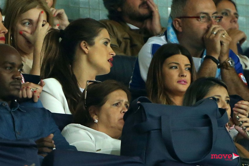 Sara Carbonero attends the game of UEFA Champions League FC Porto vs Roma