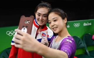 selfie Coreias