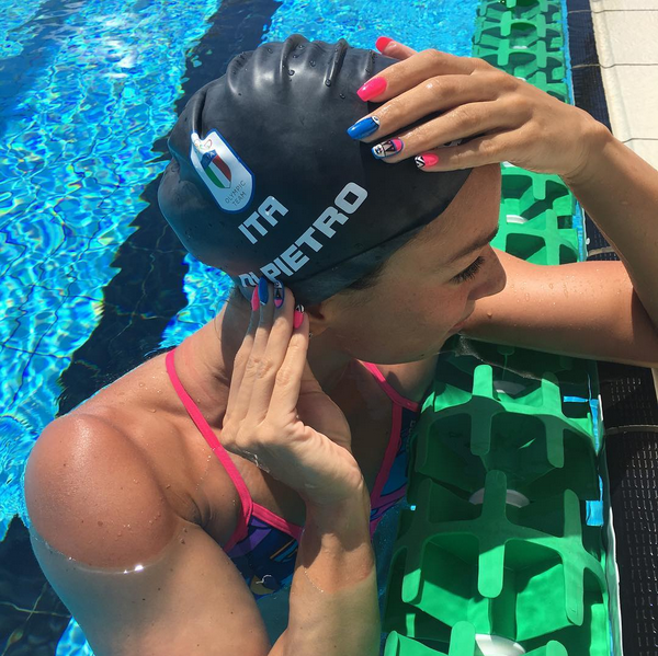 Silvia Di Pietro, nadadora italiana