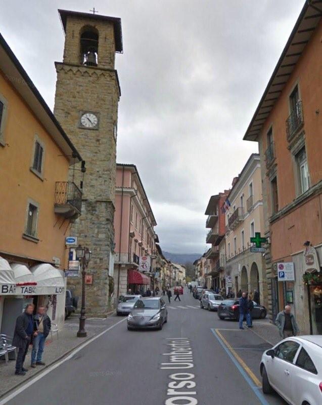 Sismo Itália 18 Amatrice antes