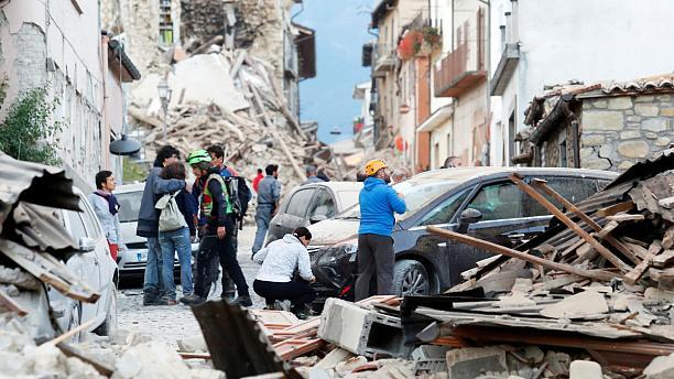 MUNDO | Un nuevo terremoto vuelve a sacudir el centro de Italia