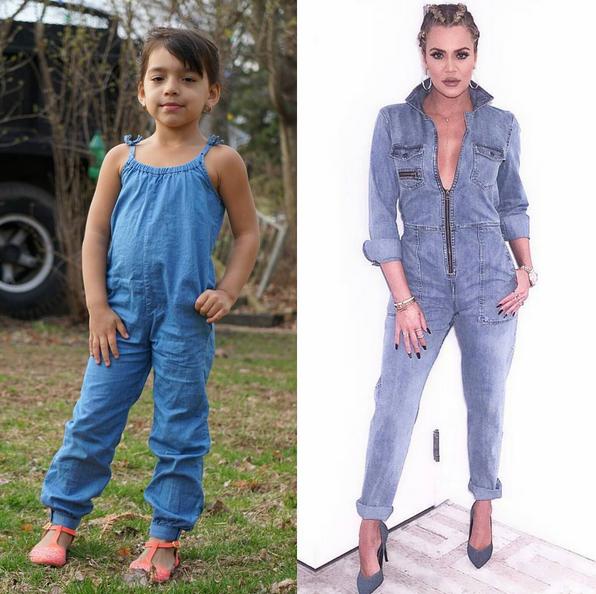 Sophia imita Kardashian 3