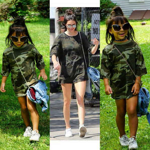 Sophia imita Kardashian 4