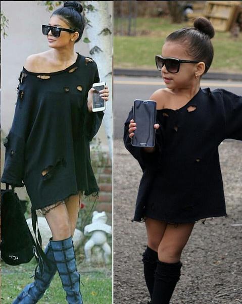Sophia imita Kardashian 6