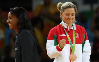 Telma Monteiro medalha de bronze