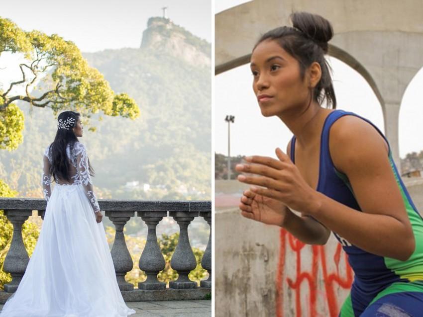 Cinara Rodriguês, da Luta Olímpica