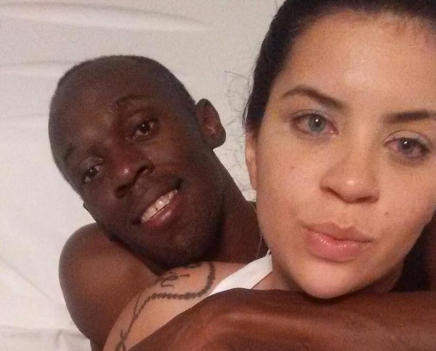 Usain Bolt e Jady Duarte