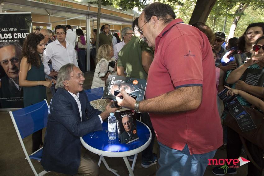 Carlos Cruz na Feira do Livro do Porto 2
