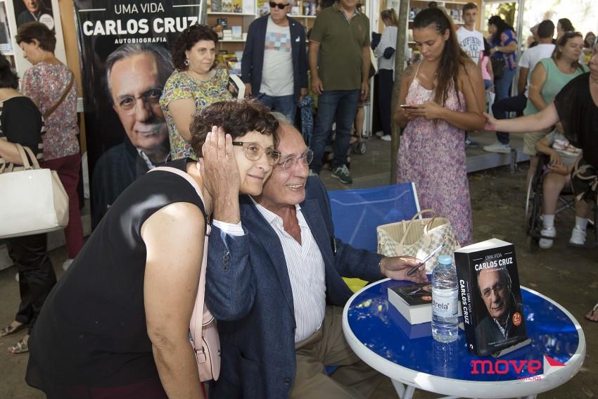 Carlos Cruz na Feira do Livro do Porto
