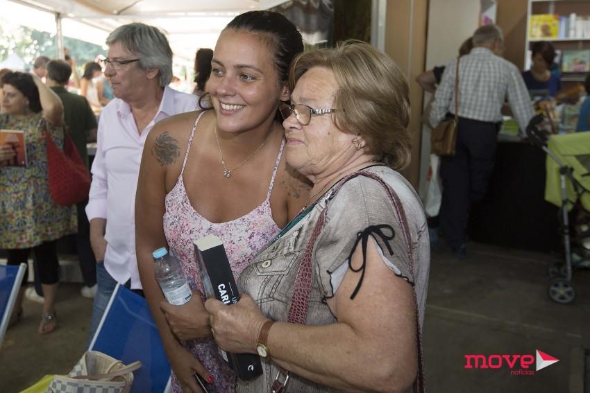 Marta Cruz na Feira do Livro do Porto