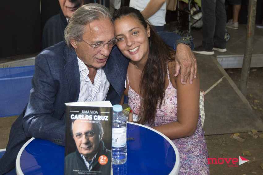 Carlos Cruz e Marta Cruz na Feira do Livro do Porto 4