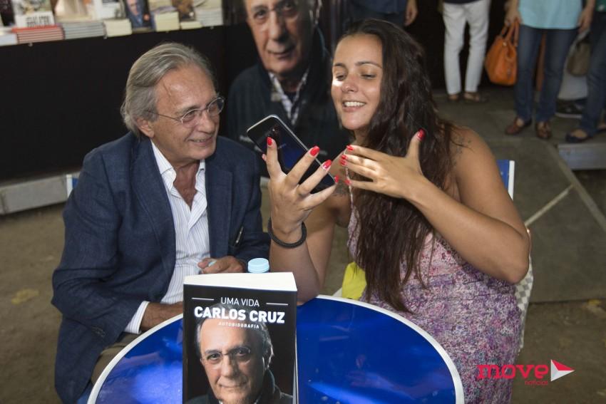 Carlos Cruz e Marta Cruz na Feira do Livro do Porto 2