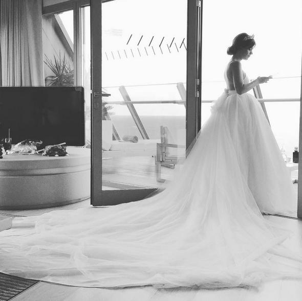 O vestido de princesa de Aida Domenech, mais conhecida por 'Dulceida'
