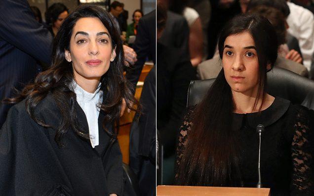 Mulher de George Clooney enfrenta Estado Islâmico em defesa