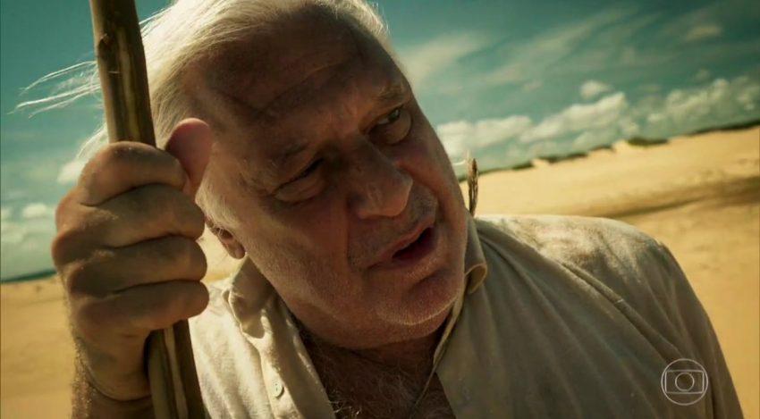 No episódio mais recente, António Fagundes brilhou nas cenas que protagonizou