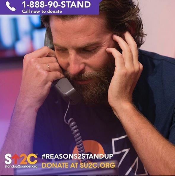Bradley a atender os telefonemas de quem quis deixar o seu donativo