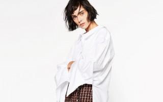 Camisas brancas Zara Capa