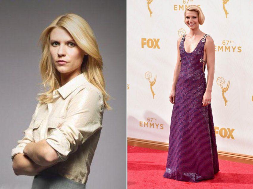 Claire Danes: Foram várias as vezes que a atriz surpreendeu pela mudança radical de look. Com o cabelo mais curto e a esbanjar glamour, Claire surpreendeu pela magreza excessiva.