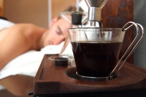 Despertador que prepara café 2