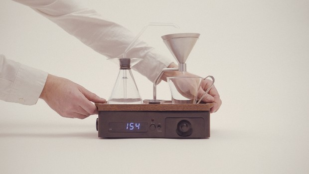 Despertador que prepara café 4