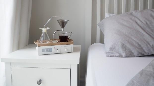 Despertador que prepara café 5