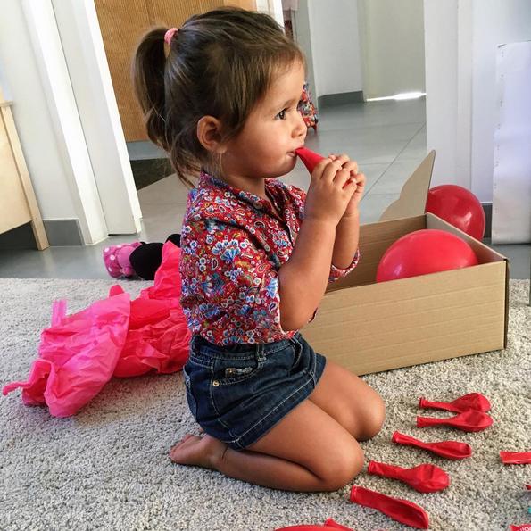 Diana tem já dois anos