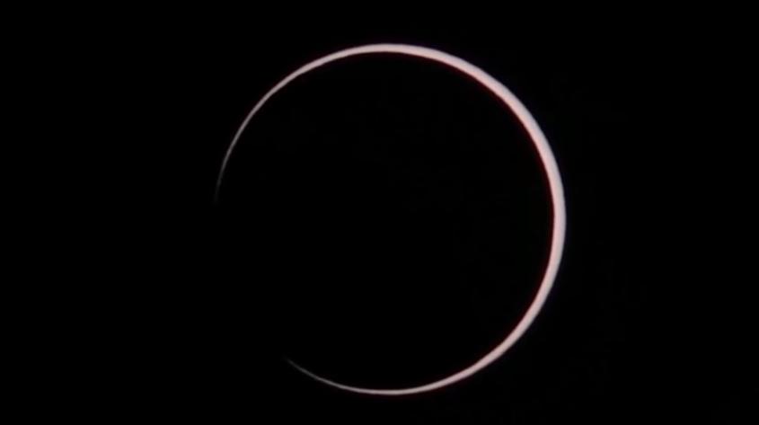 Eclipse solar África e Oceano Índico
