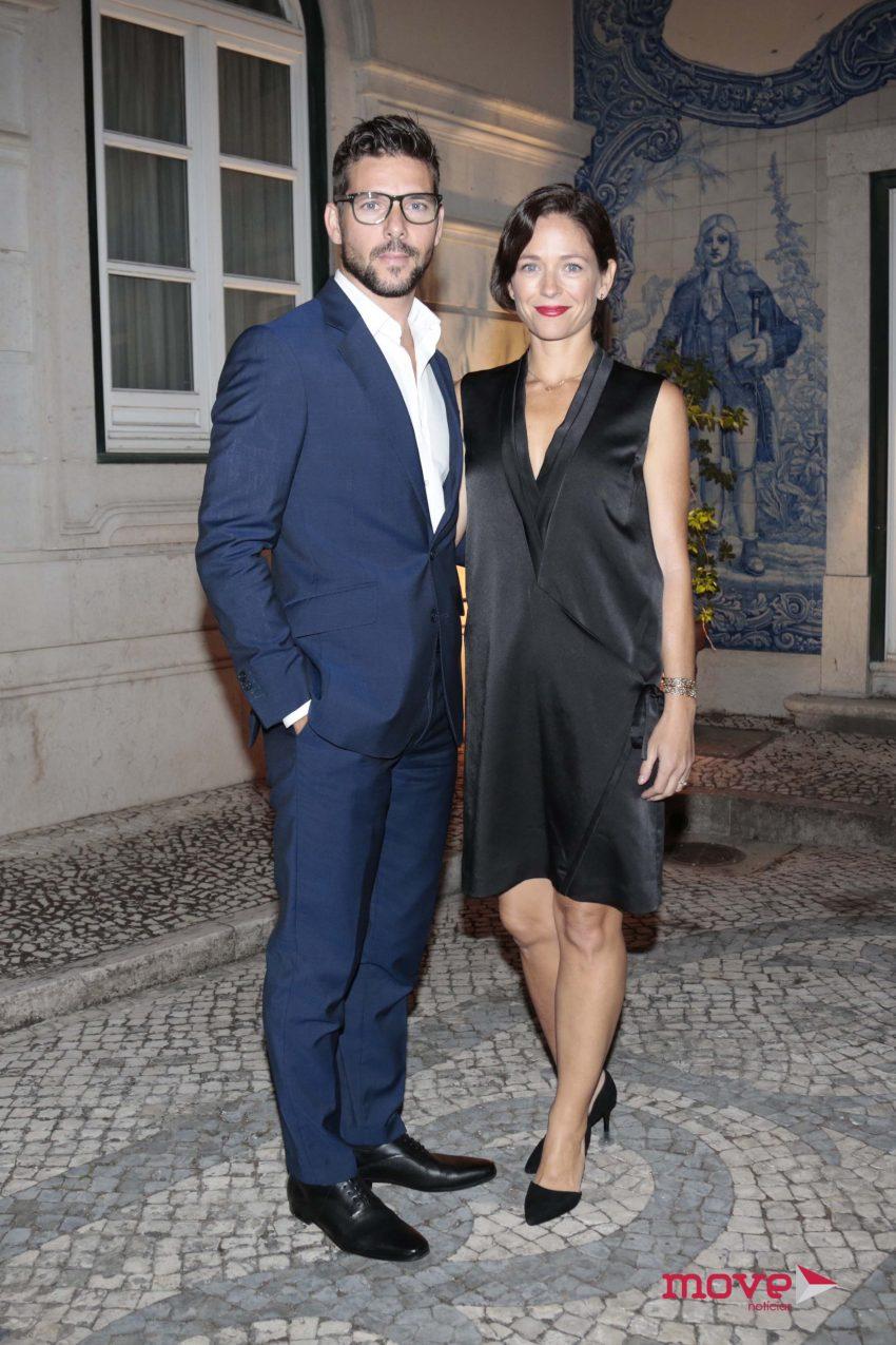 Jorge Corrula e Paula Lobo Antunes