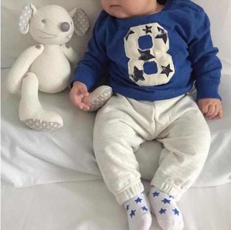 Jon, filho de Iván Marcano e Irene Carrasco, tem três meses